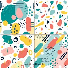 Download Hand Drawn Abstract Pattern Collection for free