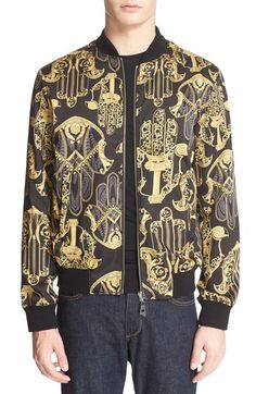 Versace Collection Print Reversible Bomber Jacket - that should be mine!