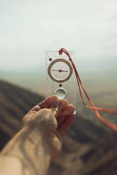 A compass for guiding