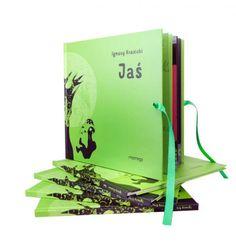 Jaś Ignacy Krasicki - bajki dla dzieci super książka w ekstra wydaniu z pięknymi ilustracjami.