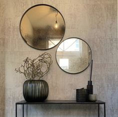 Toilet Wall, New Homes, Wall Decor, Ceiling Lights, Interior Design, Mirror, Wallpaper, Home Decor, Style