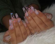 10 Creative Nail Designs for Short Nails to Create Unique Styles Drip Nails, Bling Acrylic Nails, Acrylic Nails Coffin Short, Aycrlic Nails, Best Acrylic Nails, Swag Nails, Cute Nails, Pretty Nails, Pastel Nails