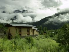 Paro, Bhutan. The Amankora lodge in Paro is nestled among conifers in a pine forest. Plan your trip at www.TheTripStudio.com