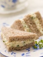 If you're an egg salad lover, you will love our collection of delicious and easy egg salad recipes. We have classic egg salad, chunky egg salad, egg salad sandwiches and more. This collection will help make your summer picnics and potlucks memorable. Tea Sandwiches, Finger Sandwiches, Tea Recipes, Cooking Recipes, Salad Recipes, Scone Recipes, Party Recipes, Easy Cooking, Healthy Recipes