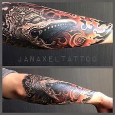 From Jan Axel Tattoo Art.