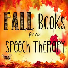 FAll books for speec