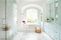Hamptons bathrooms are classic, elegant and timeless. On today's blog I share my tips on How To Create A Hamptons Style Bathroom.