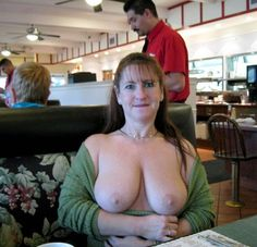 Life. There's older women flashing tits in public