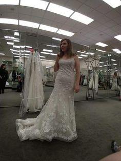01ffbceed07 Ballerina Bodice 3D Floral Trumpet Wedding Dress Style CWG814