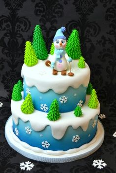 Name: snowman cake tutoral Views: 2 Size: KB Christmas Cake Designs, Christmas Cake Pops, Noel Christmas, Fondant Cakes, Cupcake Cakes, Winter Cakes, Foto Pastel, Snowman Cake, Gateaux Cake