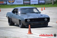 Greg Cullum drove his '69 Camaro on Forgeline SP3P wheels to a 4th place finish at this past weekend's Goodguys Rod & Custom Association autocross in Des Moines. See more at: http://www.forgeline.com/customer_gallery_view.php?cvk=1095 Photo courtesy of RideTech.  #Forgeline #SP3P #notjustanotherprettywheel #madeinUSA #Chevy #Camaro