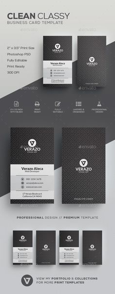 Clean Classy Business Card Template - #Corporate #Business #Cards Download here: https://graphicriver.net/item/clean-classy-business-card-template/19719993?ref=alena994