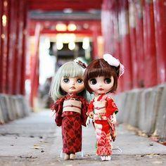 #k07doll #桜苺 #桜苺doll #歌舞伎町 #花園神社 #newyear #japan #japanese #japanesegirl #blythe #2018 #happynewyear #新年快乐 #謹賀新年