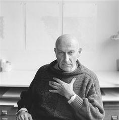 Benno Premsela geportretteerd door Philip Mechanicus,1984