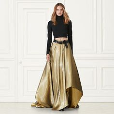 Carmen Cropped Turtleneck - Turtle & Mocknecks   Sweaters - RalphLauren.com