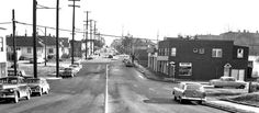 North Street and Aurora Avenue at Green Lake Way in Seattle's Wallingford neighborhood. Seattle Washington, Washington State, Seattle Times, Green Lake, Emerald City, The Good Old Days, Vintage Photography, Vintage Black, Aurora