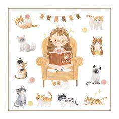 Photo Character Drawing, Character Design, Cute Diy Room Decor, Illustration Girl, Kawaii Art, Cute Characters, Cute Stickers, Doodle Art, Cute Cartoon