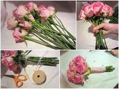 Make your own wedding boquet