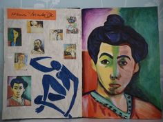Sketchbook work- Artist research: Henri Matisse | (42x60 cm)… | Zoe Kara Halliday | Flickr