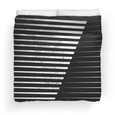 Black vs. White  #duvet #blackandwhite #design #product #home #bedroom #abstractart