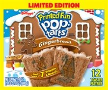 Holiday end-cap impulse buy of the day... Gingerbread Pop Tarts. First impression: deliciousness.