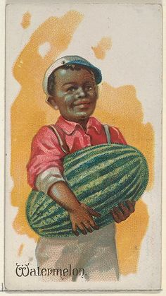 Watermelon, from the Fruits series (N12) for Allen & Ginter Cigarettes Brands, 1891. The Metropolitan Museum of Art, New York. The Jefferson R. Burdick Collection, Gift of Jefferson R. Burdick (63.350.201.12.48)