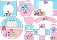 my little pony free printable mini kit