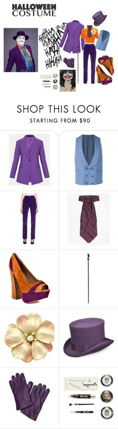 """""""The Joker"""" by alwaysdreaming16 ❤ liked on Polyvore featuring jared, Canali, Marc Jacobs, MSGM, Brooks Brothers, Steve Madden and Scala"""