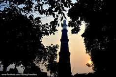 Three rulers have spend their time and wealth to built this mesmerizing minaret... #QutubMinar #TouringTravellers
