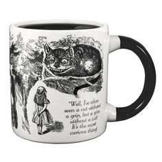 Cheshire Cat Mug now featured on Fab.