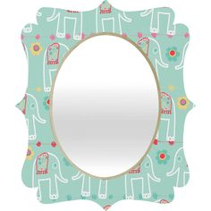 Ali Benyon Love Is Quatrefoil Mirror | DENY Designs Home Accessories