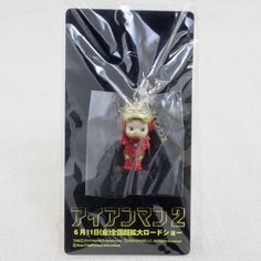 RARE! Iron Man 2 Rose O'neill Kewpie Kewsion Strap Marvel JAPAN ANIME MANGA