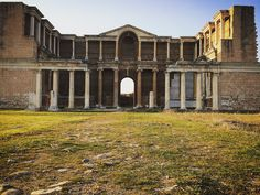 Ancient Rome City in Middle East Mesopatamia