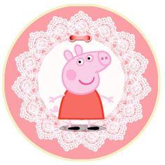 Peppa Pig y Familia: Kit para Imprimir Gratis.
