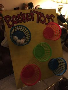Homemade carnival game. Very easy, very cheap !! …