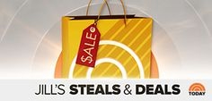 Where are Jill's Steals and Deals from The Today Show? NBC deals & steals, Jill Martin steals and deals, seen on the Today Show, steals and deals Omaha Steaks, Beauty Kit, Container Store, Birthstone Necklace, Burts Bees, Deal Today, Today Show, Makeup Kit, Cozy House