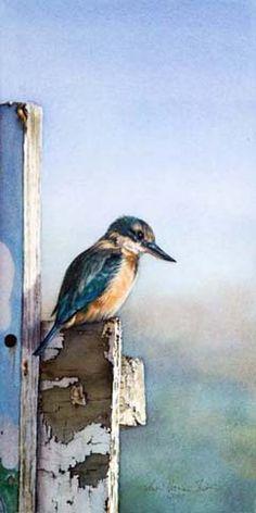 The Sentinel (watercolor) ... Susan Harrison-Tustain