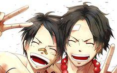 Luffy & Ace <3