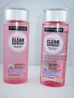 Maybelline Clean Express Makeup Removers for Spring 2013 Wonderful waterproof eye makeup remover