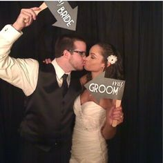 Bride and Groom Paddle Arrow  Signs Photo by livelaughlovelots, $14.50