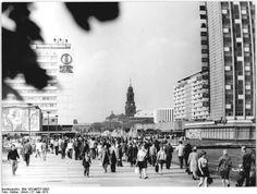 Dresden, Prager Strasse, 1973