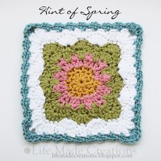 Life Made Creations: Crochet Book Mark and Grannies  free pattern here