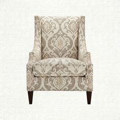 Plazza Upholstered Chair in Raffia