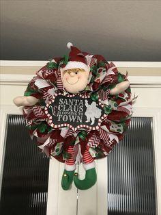 Elf Christmas wreath created by Ronda Cromeens 60$