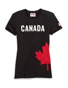 HBC Collections | Olympic Collection | Sochi 2014 Canadian Maple Leaf Tee | Hudson's Bay