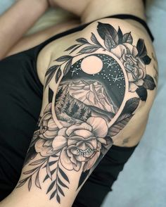 60 Stunning Tattoos That May Just Change Your Life - Page 4 .- by Kyle Stacher. - 60 Stunning Tattoos That May Just Change Your Life – Page 4 …- by Kyle Stacher - - Trendy Tattoos, Unique Tattoos, Small Tattoos, Tattoos For Guys, Flower Tattoos, Ladies Tattoos, Gorgeous Tattoos, Form Tattoo, Shape Tattoo