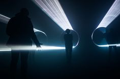 MINI and united visual artists present interactive 'parallels' laser installation