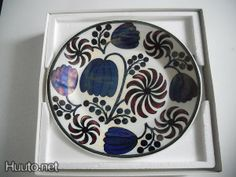 Arab Birger Kaipiainen decorative plate - 185 € - Arabian vases and decorative objects - porcelain and ceramics - Art & Design - Huuto.net - ...