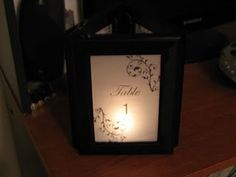luminary table numbers