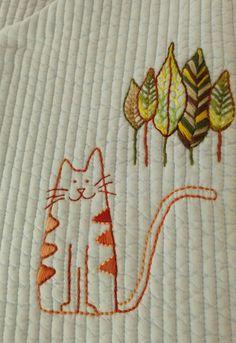 아기 누비 조끼 : 네이버 블로그 Embroidery Art, Cross Stitch Embroidery, Baby Sheets, Diy And Crafts, Weaving, Kids Rugs, Crochet, Pattern, Design